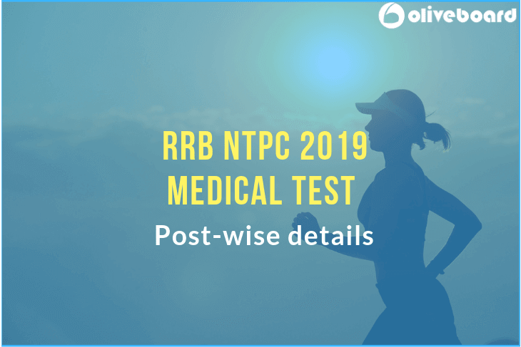 RRB NTPC Medical Test 2019