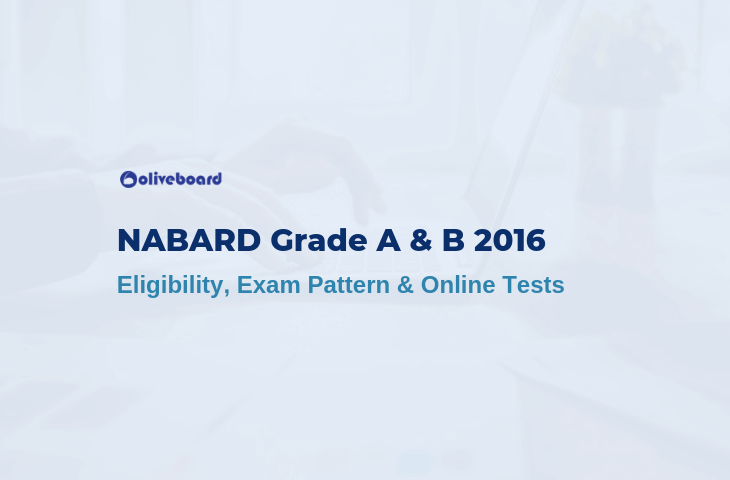 NABARD Grade A & B 2016