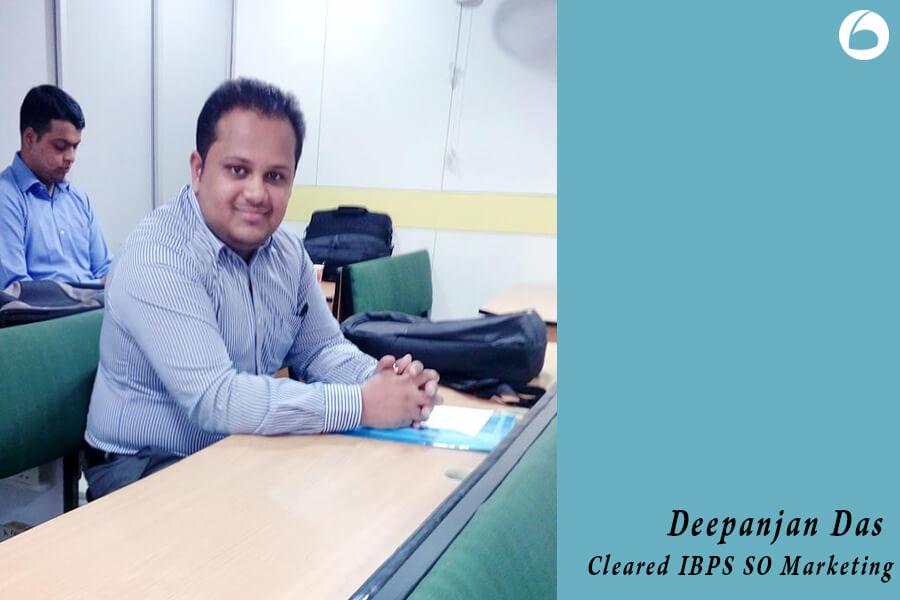 IBPS SO Success Story - Deepanjan Das