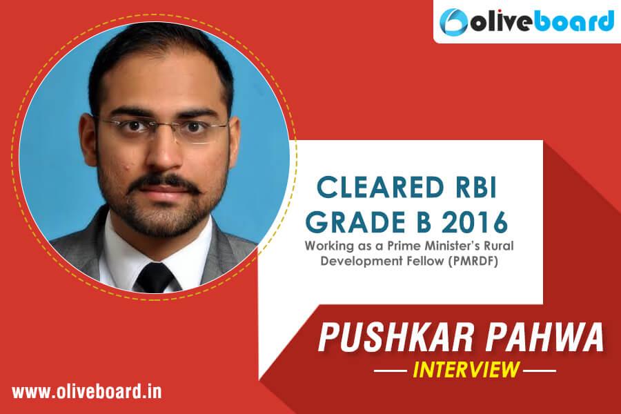 RBI Success Story - Pushkar Pahwa