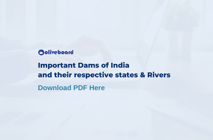 Important Dams of India