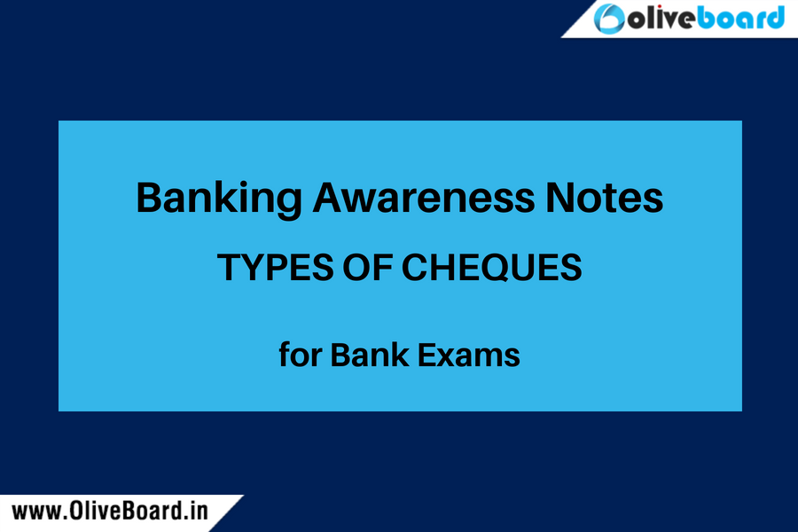 Banking Awareness notes Cheques