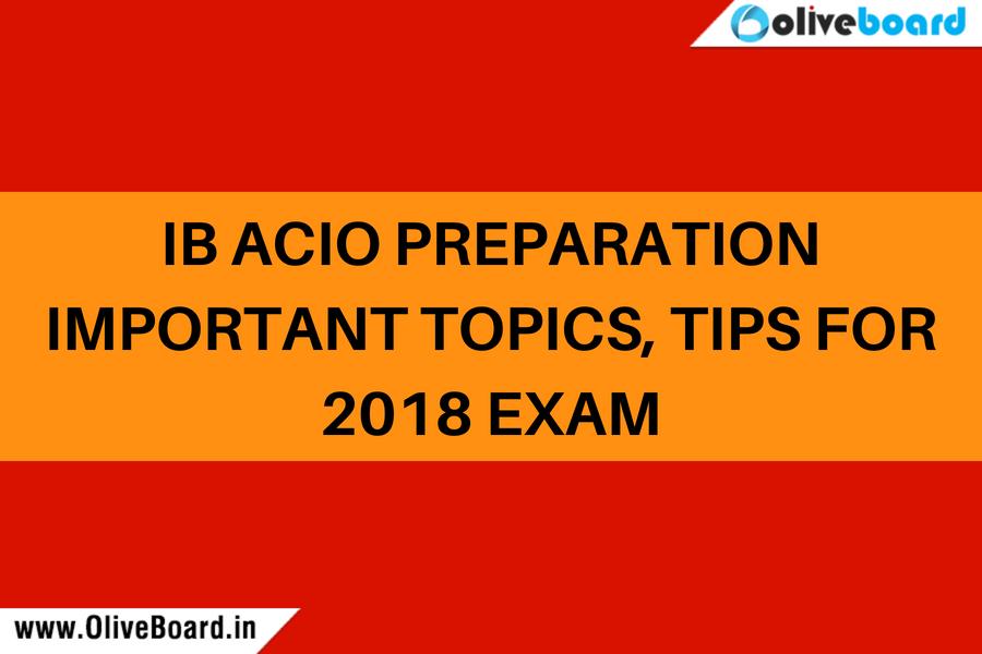 IB ACIO Preparation