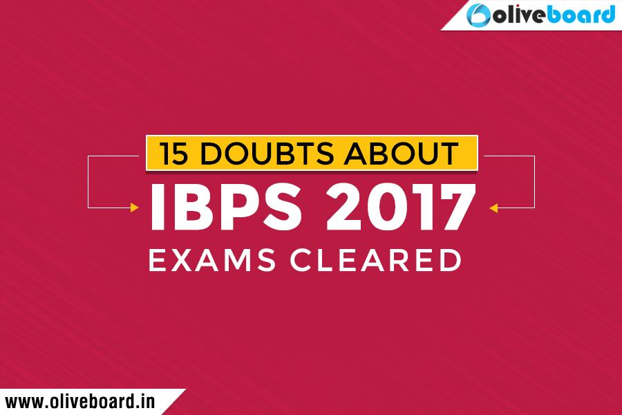 IBPS Exam Doubts