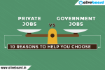 private and government jobs