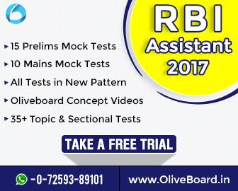 RBI Assistant Prelims 2017