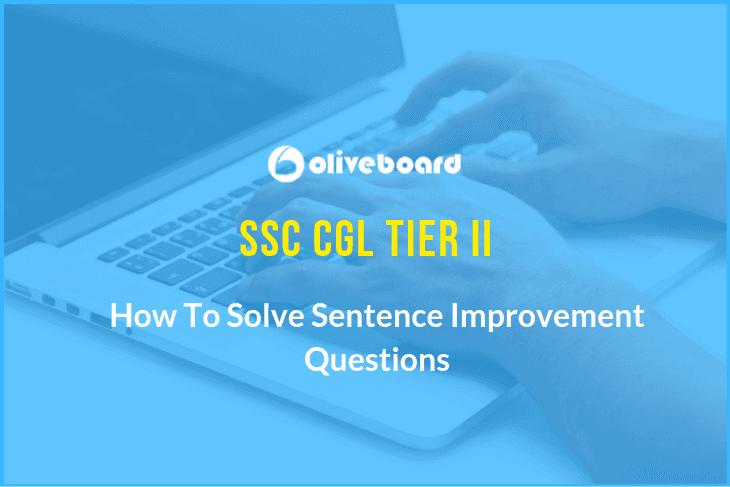 SSC CGL Tier-II English Language Preparation