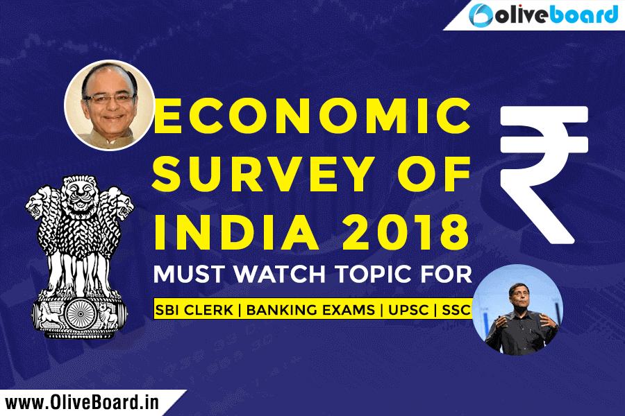 Important Economic Survey Highlights 2017-18