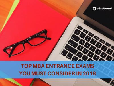MBA Entrance Exams 2018