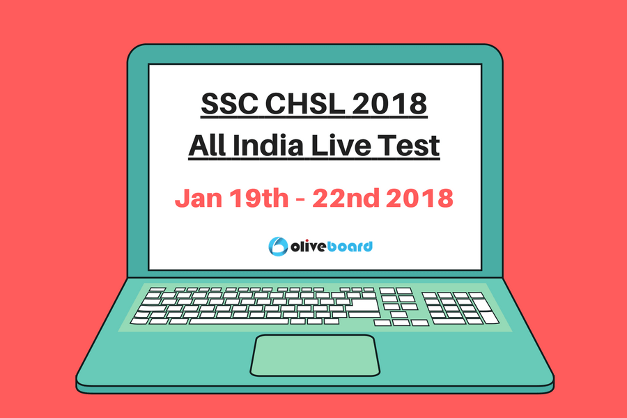 SSC CHSL 2018 All India Live Test
