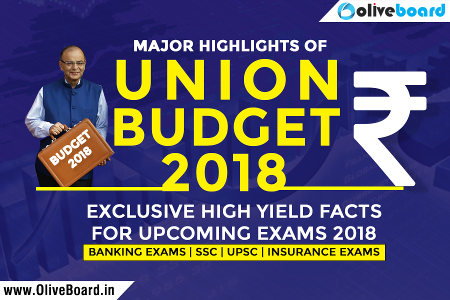 Union Budget 2018 Facts