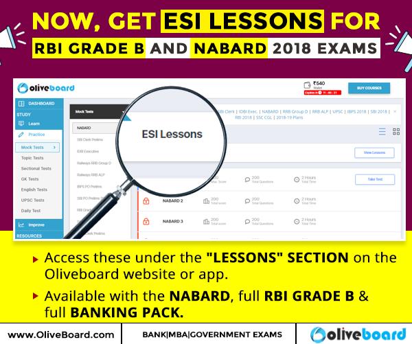 ESI Lessons
