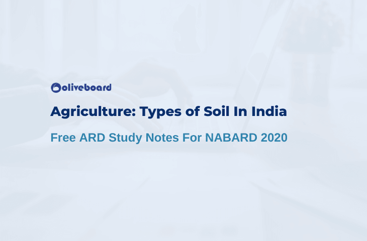 Types of Soils in India For NABARD Exam