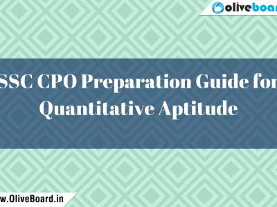 SSC CPO Preparation Guide for Quantitative Aptitude