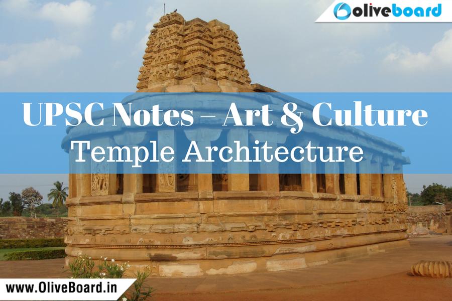 UPSC Notes Art & Culture - Temple Architecture