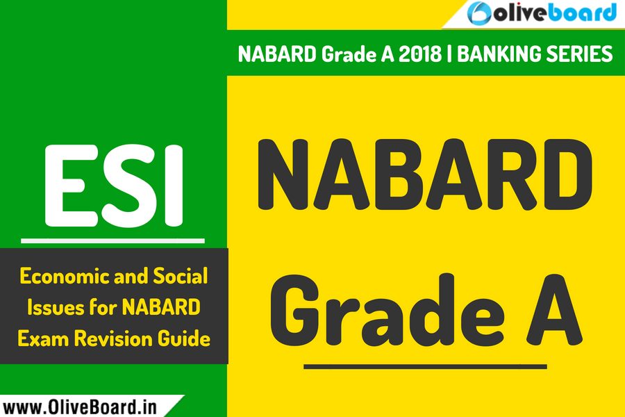 NABARD Grade A 2018 Economic and Social Issues
