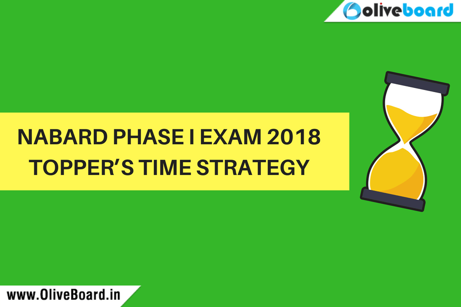 NABARD Exam- Time Strategy