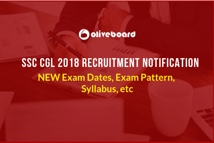 SSC CGL 2018 Notification