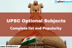 UPSC Optional Subjects