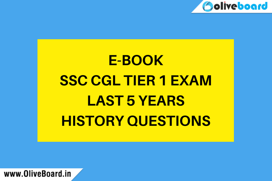 E-book - SSC CGL Tier 1 Exam Last 5 years - History Questions