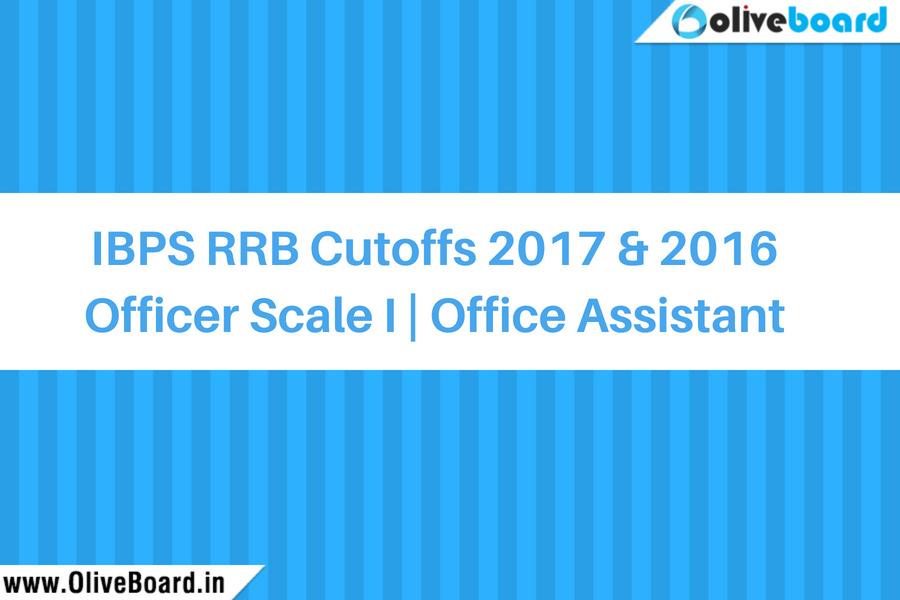 IBPS RRB Cutoffs 2017