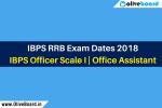 IBPS RRB Exam Dates 2018
