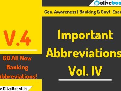 Important Abbreviations, Volume 4