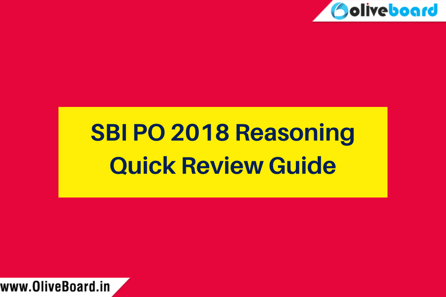 SBI PO 2018 Logical Reasoning Quick Review Guide