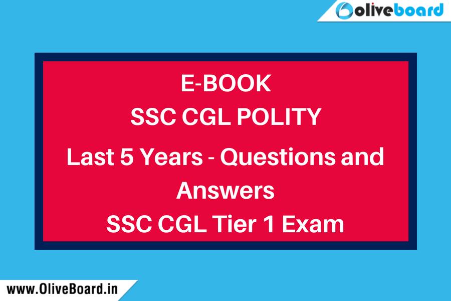 SSC CGL Polity Ebook