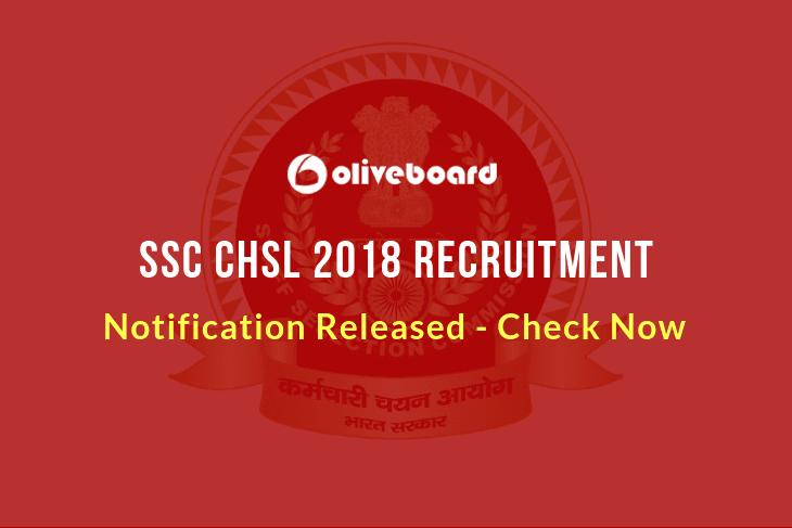 SSC CHSL 2018 Recruitment 1