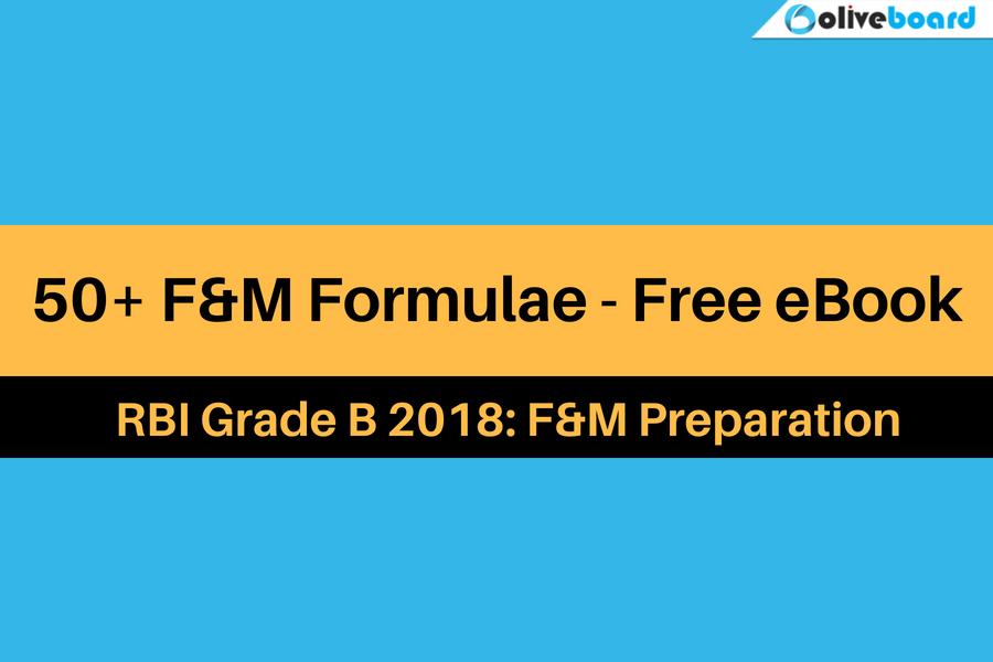 50+ F&M Formulae eBook
