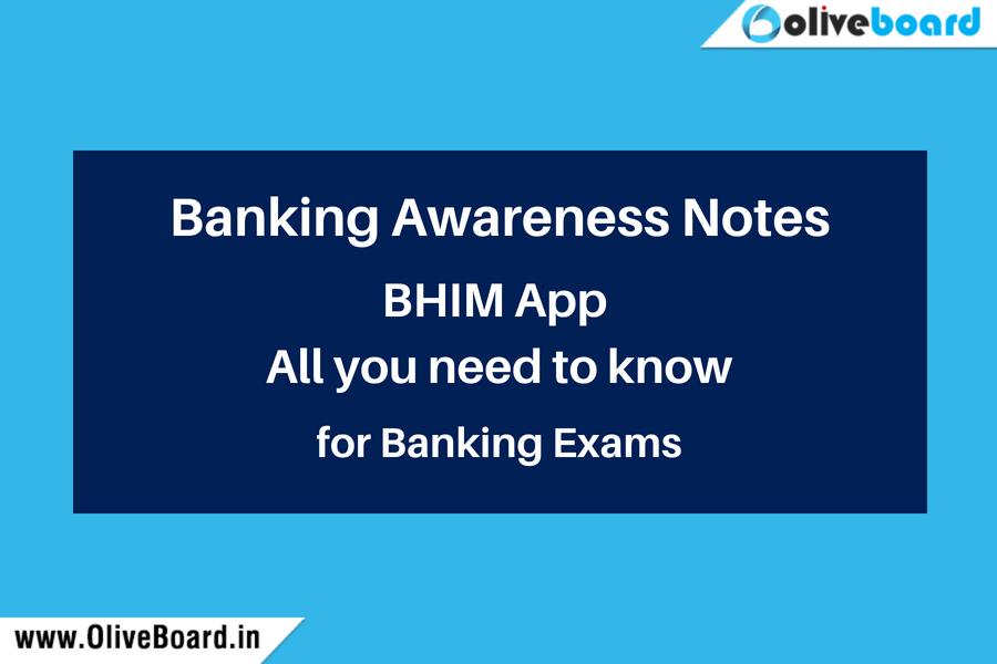 Banking Awareness notes BHIM
