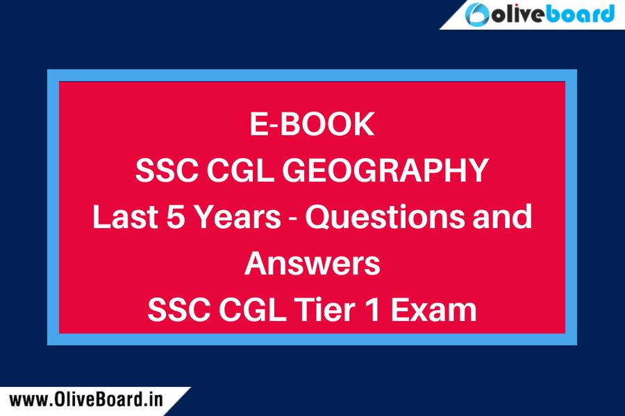 Ebook - SSC CGL Geography Q&A