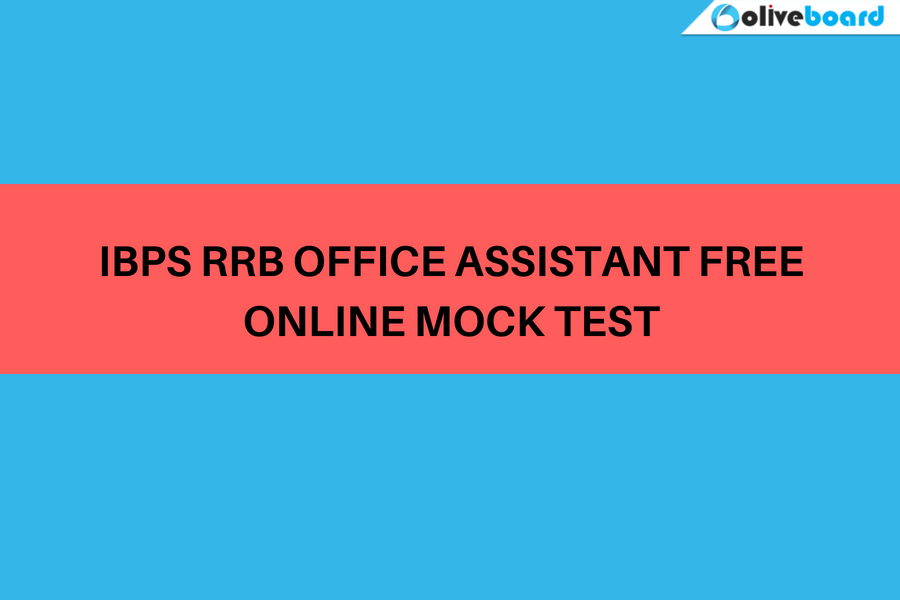 IBPS RRB Office Assistant Free Online Mock Test