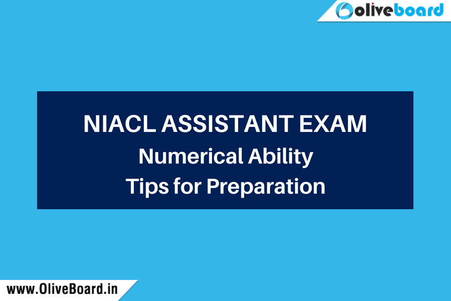 NIACL Assistant Numerical Ability
