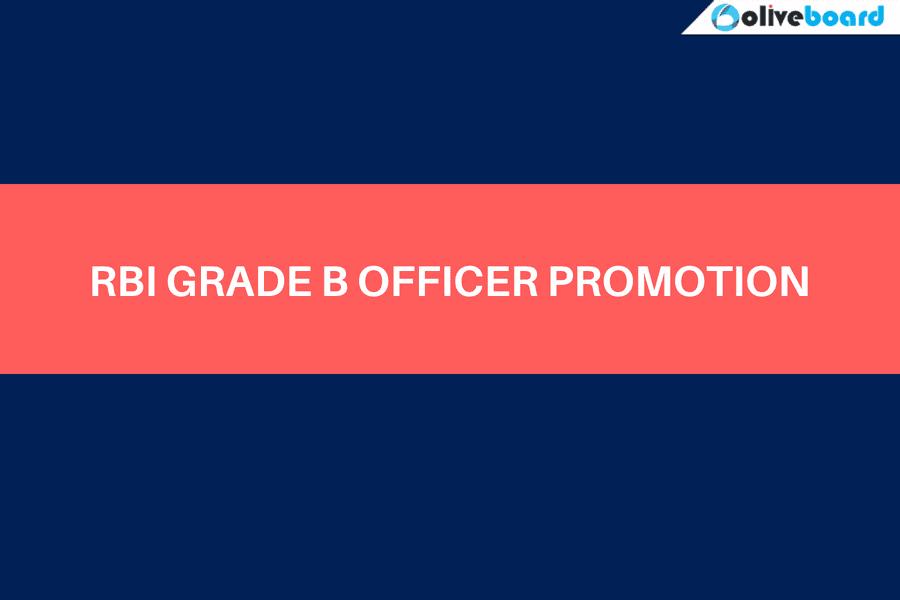 rbi grade b officer promotion