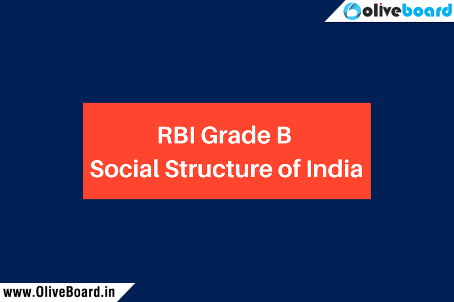 RBI Grade B Social Structure of India