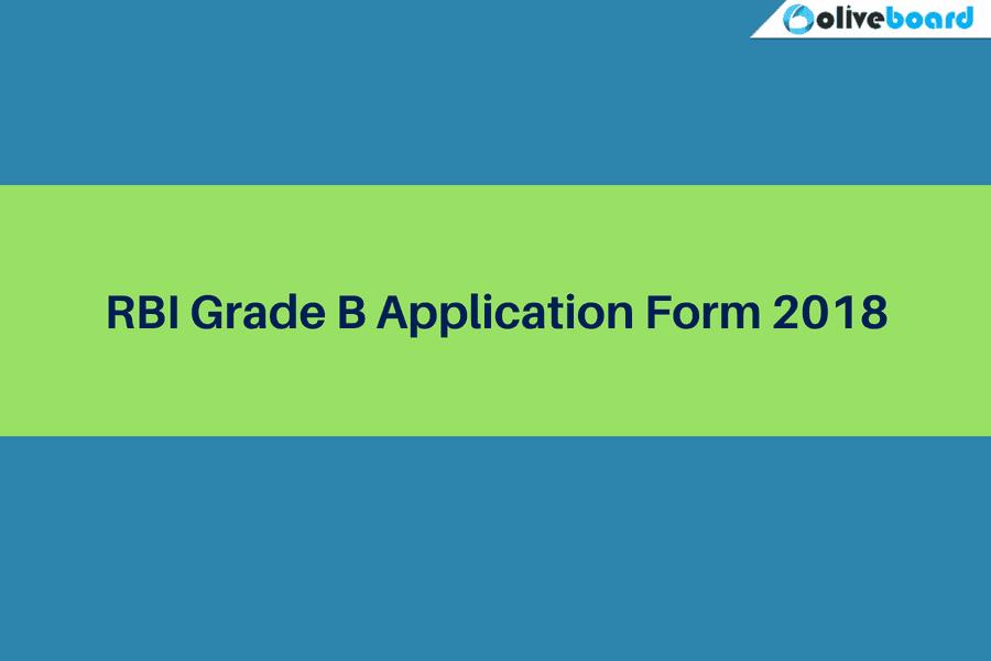 rbi grade b officer application form