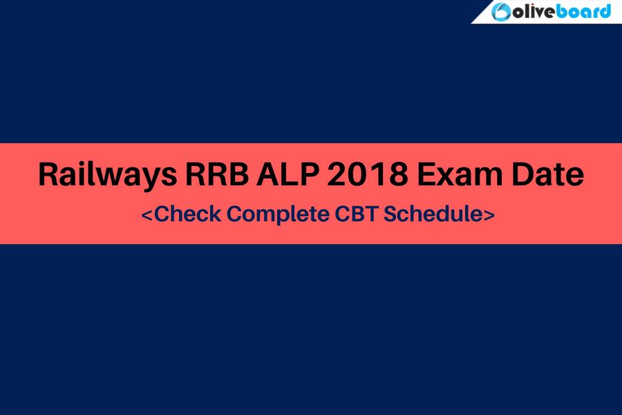 RRB ALP Exam Date