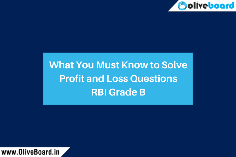 What You Must Know to Solve Profit and Loss Questions