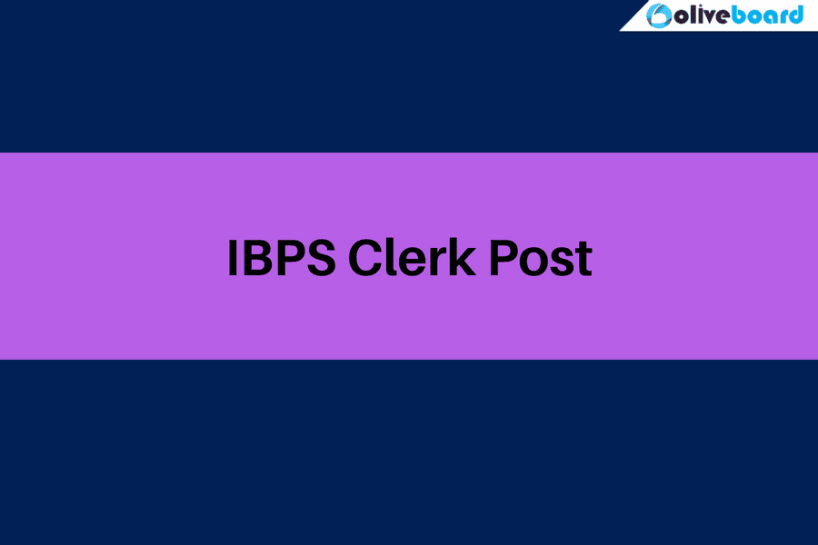 ibps clerk post