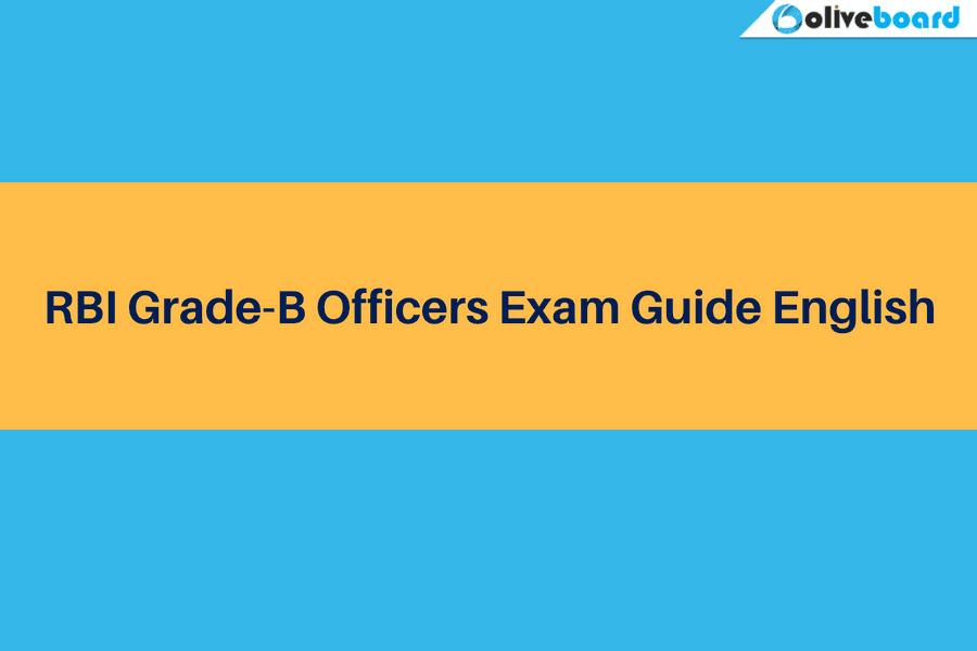 rbi grade b officer exam guide