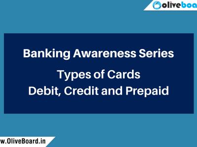 Banking Awareness Series Cards