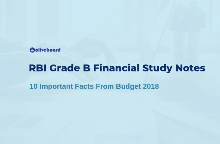 RBI Grade B Financial Study Notes