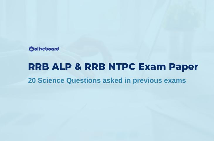 RRB ALP & RRB NTPC Exam Paper
