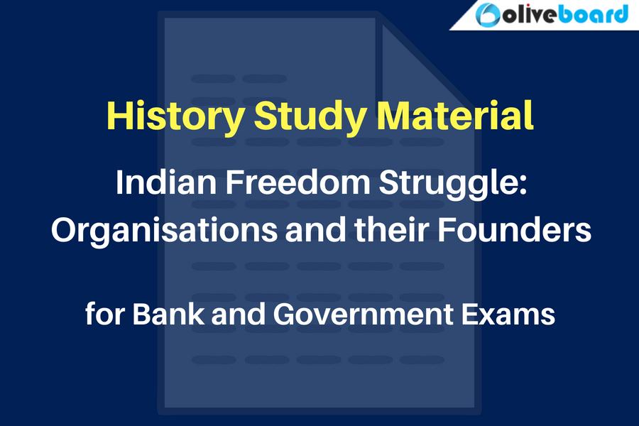 History Study Material Organisations List