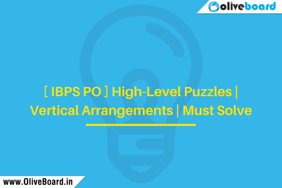 High-Level Puzzles | Vertical Arrangements | Must Solve