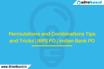 Permutations and Combinations Tips and Tricks | IBPS PO | Indian Bank PO