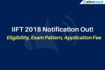 IIFT 2018 Notification