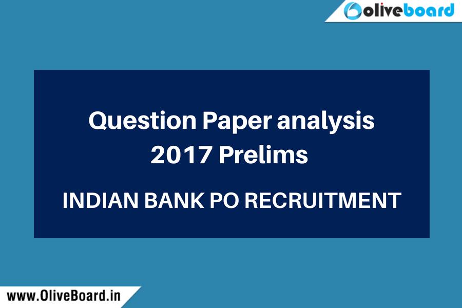 Indian Bank PO Recruitment Analysis